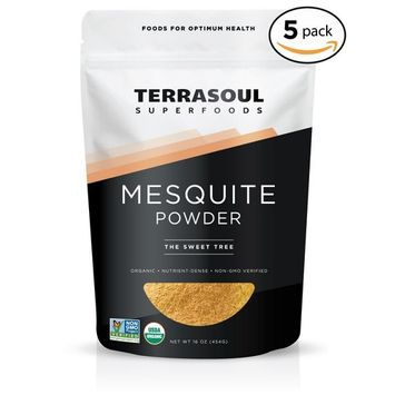 Terrasoul Superfoods Mesquite Powder (Organic), 5 Pounds