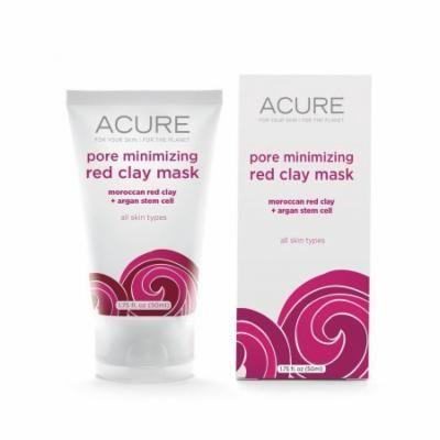 Pore Minimizing Red Clay Mask Acure Organics 1.75 oz Liquid