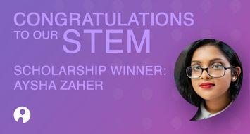 Influenster Women in STEM Winner: Aysha Zaher