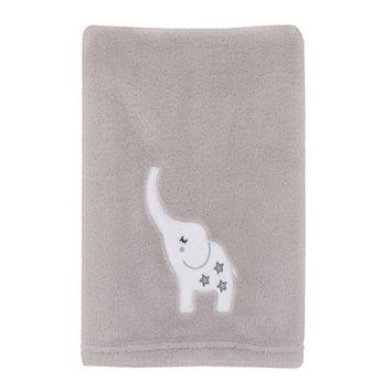 Dream Big Little Elephant Baby Blanket