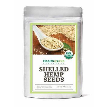 Healthworks Hemp Seeds, Organic
