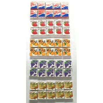 Marukawa Bubble Gum Assort Pack / 4 Pieces x 50 Packs