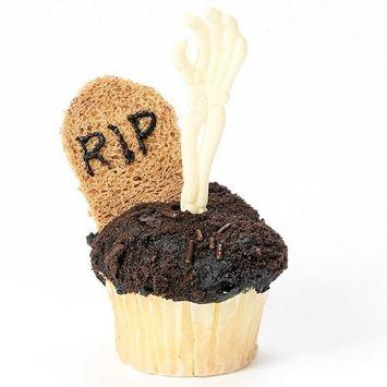 Skeleton Hand Cupcake Picks (6 dz)