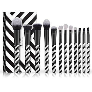 Mixed Powder Brush Set, Ducare 12Pieces Kabuki Makeup Foundation Brush Makeup Brush Sets Kits Tools