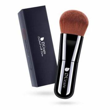 DUcare Kabuki Foundation Face Powder Brush Portable Makeup Cosmetic Tool(Black)