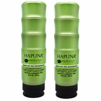 Pack of Two (2) Paul Brown Hapuna Keratin Anti-Frizz Reconstructor