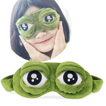 Fabal Cute Eyes Cover The Sad 3D Eye Mask Cover Sleeping Rest Sleep Anime Funny Gift