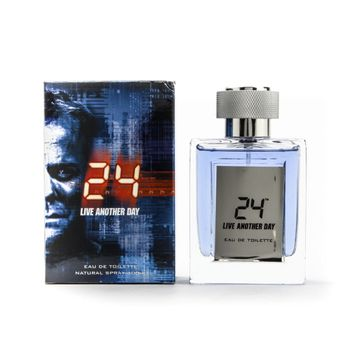 24 Live Another Day by ScentStory, 3.4 oz Eau De Toilette Spray for Men