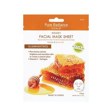 CALA® Pure Radiance Honey Facial Mask Sheet Illuminating