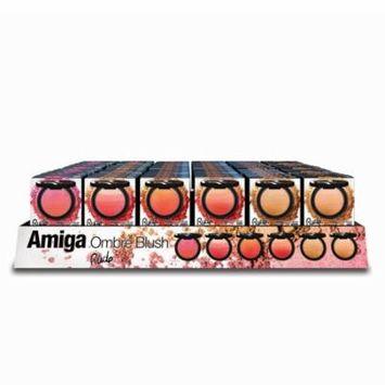 RUDE Amiga Ombre Blush Acrylic Display, 72 Pieces