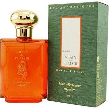 Maitre Parfumeur Et Gantier by Maitre Parfumeur Et Gantier For Men. Grain De Plaisir Eau De Toilette Spray 3.3-Ounces