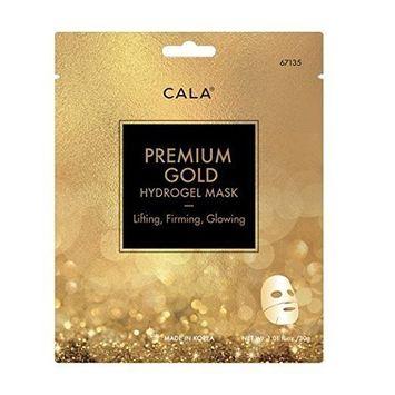 CALA Pure Radiance PREMIUM GOLD HYDROGEL MASK- Lighting Firming Glowing 3 sheet/pack