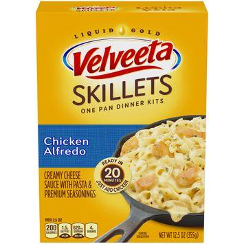 Velveeta Cheesy Skillets Chicken Alfredo Dinner Kit