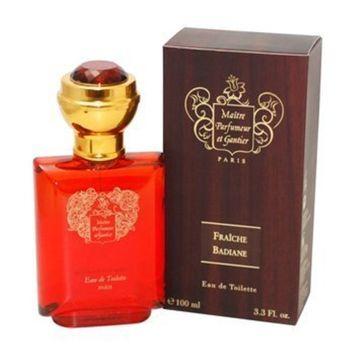 Maitre Parfumeur Et Gantier Fraiche Badiane Eau de Toilette Spray for Men, 3.3 Ounce