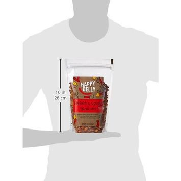 Amazon Brand - Happy Belly Sweet & Spicy Trail Mix, 16 Ounce, Pack of 2 [Sweet & Spicy Trail Mix]
