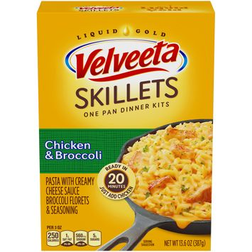 Velveeta Cheesy Skillets Chicken & Broccoli Dinner Kit