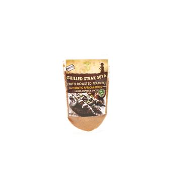 Iya Foods Llc Grilled Steak African Seasoning with Roasted Peanuts (NO MSG) â 2 OZ