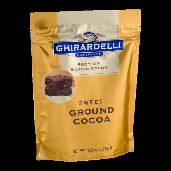 Ghirardelli Chocolate Premium Baking Cocoa Sweet Ground