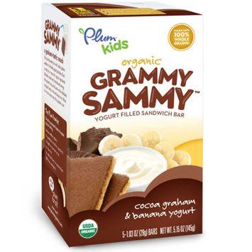 Plum Organics Plum Kids Grammy Sammy Cinnamon, Graham & Vanilla Yogurt