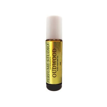 OudWood Perfume Oil. Perfume Studio IMPRESSION of TF Oud Wood for Men. 10ml Amber Glass Roll On White Cap; 100% Pure Parfum Oil (VERSION/TYPE Oil; Not Original Brand)