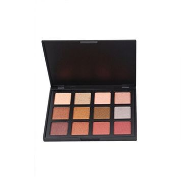 Doinshop Cosmetic Makeup Eyeshadow Palette Kit Pearl Matte Combination Naked Smoky 12 Colors