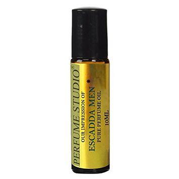 Perfume Studio Premium IMPRESSION Parfum Oil; SIMILAR Fragrance Accords to -(Escadda_) for Men, 100% Pure, No Alcohol Parfum Oil (Original_EscadaMen_Version; Not Original Brand)