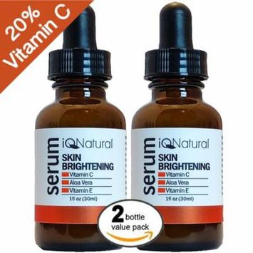 Vitamin C Serum For Face with Hyaluronic Acid & Vitamin E | All Natural Moisturizing, Anti-Aging & Brightening | Collagen & Radiance Boosting Anti-Wrinkle Moisturizer