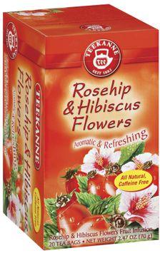 Teekanne Rosehip & Hibiscus Bags Tea 20 Ct Box