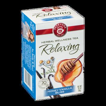 Teekanne Herbal Wellness Tea Relaxing Honey Vanilla Bliss