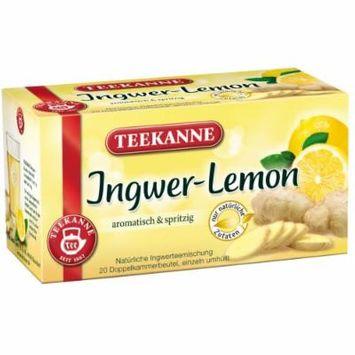 3x Teekanne (Ingwer-Lemon) Ginger-Lemon (each box 20 tea bags)