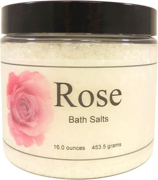 Eclectic Lady Rose Bath Salts, 16 ounces