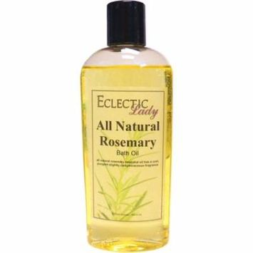 All Natural Rosemary Bath Oil, 4 oz
