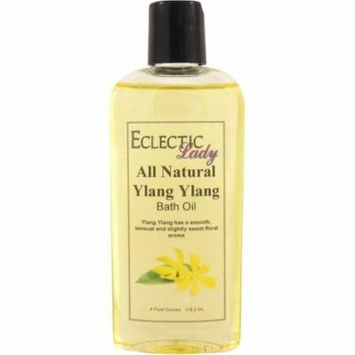 All Natural Ylang Ylang Bath Oil, 4 oz