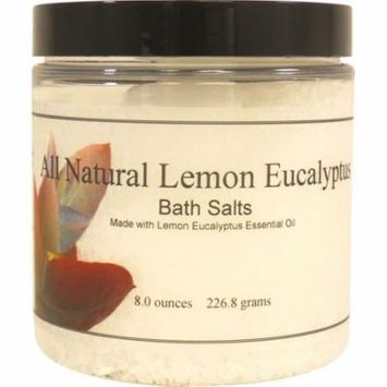 All Natural Lemon Eucalyptus Bath Salts, 16 ounces