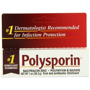 Polysporin First Aid Antibiotic Ointment 1-Ounce (Pack of 2)