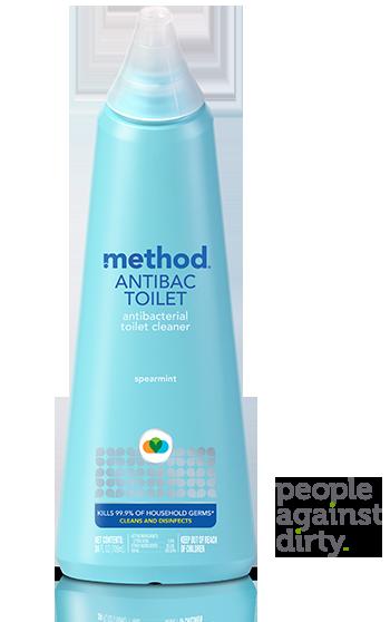 method Antibacterial Toilet Bowl Cleaner Spearmint