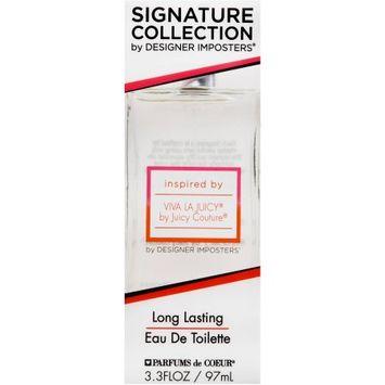 Pdc Brands Signature Collection by Designer Imposters, Inspired by Viva La Juicy, Eau de Toilette, 3.3 fl. oz.