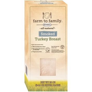 Butterball® Farm to Family™ all Natural Smoked Turkey Breast