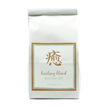 Dead Sea Salts, Healing Blend with Lavender & Tea Tree