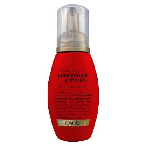 OGX® Revitalizing Styling Mousse, Pomegranate Green Tea