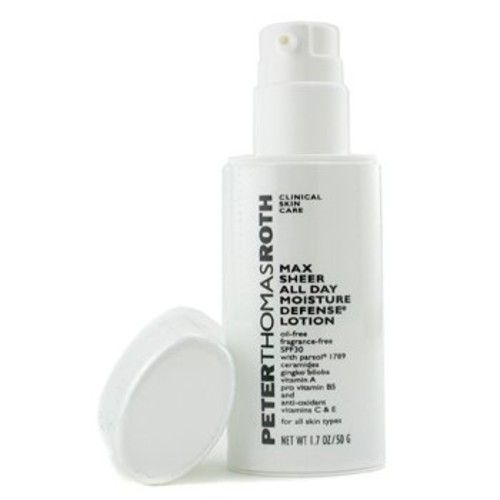 Peter Thomas Roth Max Sheer All Day Moisture Defense Lotion with SPF30 1.7 oz