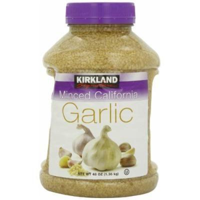 Kirkland Minced California Garlic, 48-Ounce
