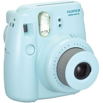 Fujifilm Instax Mini 8 Camera - Blue - Instant Film - Blue