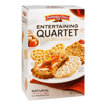 Pepperidge Farm® Entertaining Quartet Distinctive Crackers
