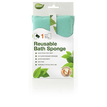 Natural Home Products Bath Sponge, Green