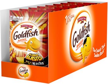 Pepperidge Farm® Goldfish® Xtreme Flavor Blasted Nacho Baked Snack Crackers