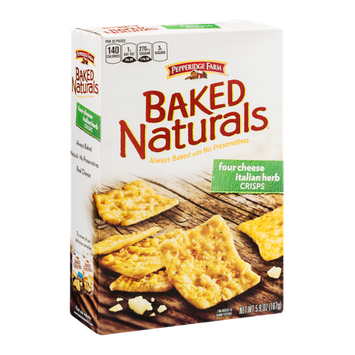 Pepperidge Farm® Baked Naturals Crisps Four Cheese Italian Herb