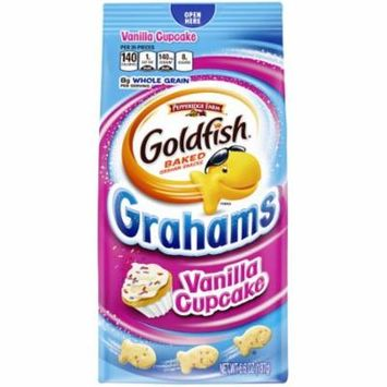 Pepperidge Farm Goldfish Grahams Vanilla Cupcake Crackers