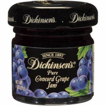 Dickinson Grape Jam, 1 Ounce (72 Pack)