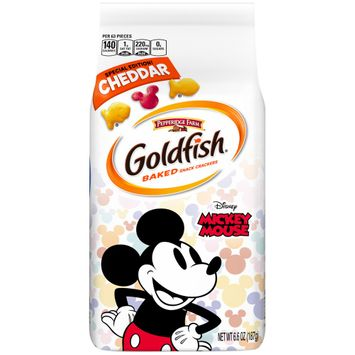 Pepperidge Farm® Goldfish® Special Edition Disney Mickey Mouse Cheddar Crackers